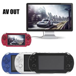 CONSOLE PSP Console de jeu portable 4.3'Écran PSP noir avec Ca