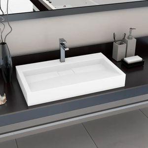 LAVABO - VASQUE Luxueux Magnifique-Lavabo Vasque de Salle de Bain