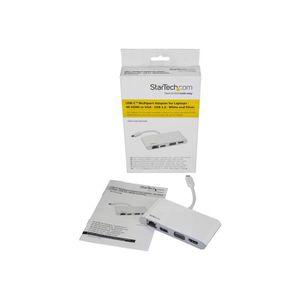 CÂBLE RÉSEAU  STARTECH.COM Adaptateur multiport USB-C pour ordin