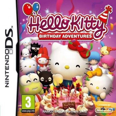 JEU DS - DSI HELLO KITTY BIRTHDAY ADVENTURES / Jeu console DS