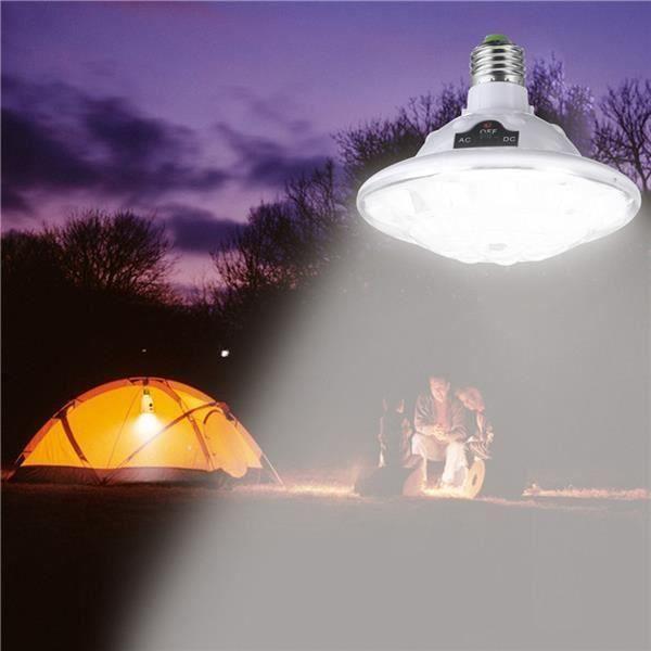 22 LED extérieur/intérieur lampe solaire Attentif Camp éclairage extérieur télécommande