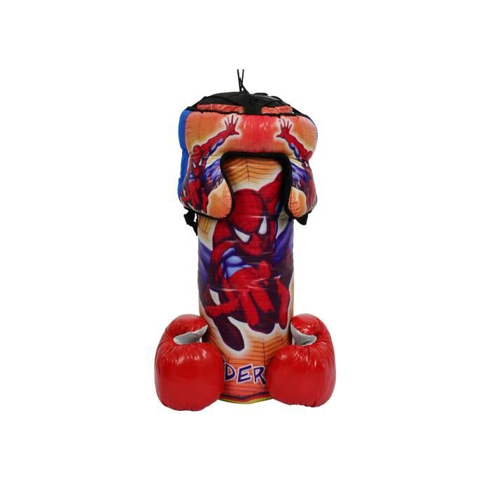 Piece Detachee Table Multi-Jeux Punching-boxing Set 44 Cm With Gloves And Head Gear For (cartoons Character May Very) V8UNL