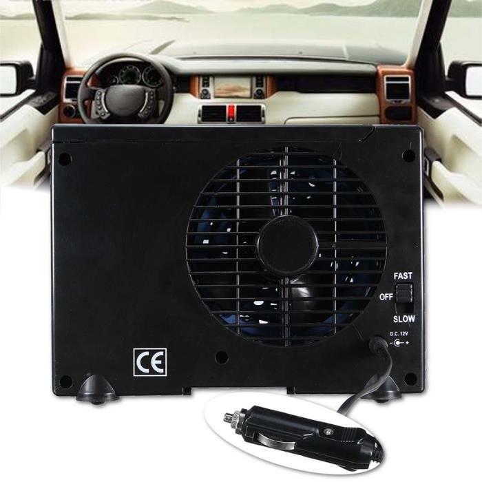 Portable Mini Voiture Unité Climatisation, Universal, Dc, 12 V Noir