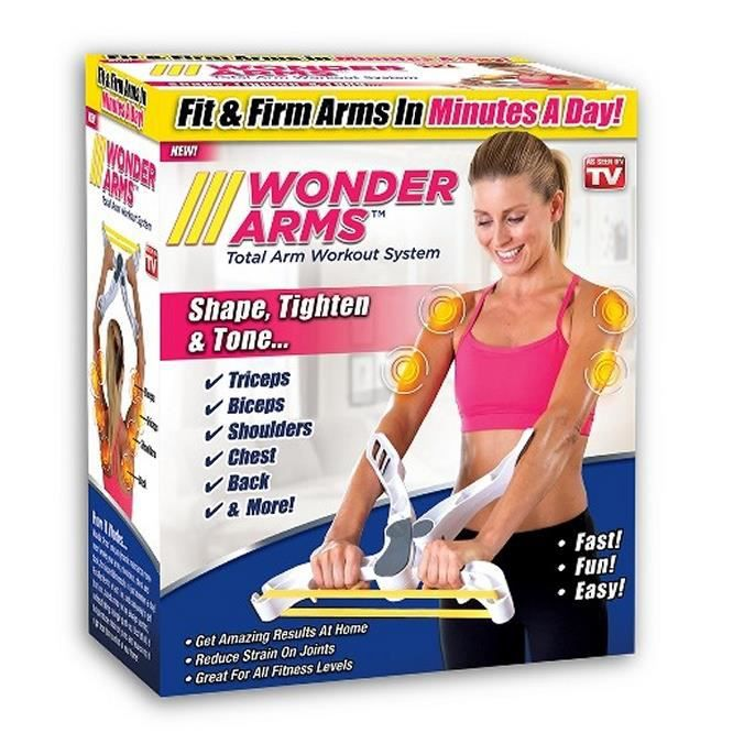 WONDER ARMS - Appareil De Musculation Pour Le Haut Du Corps