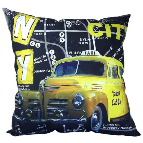 Coussin New York Taxi
