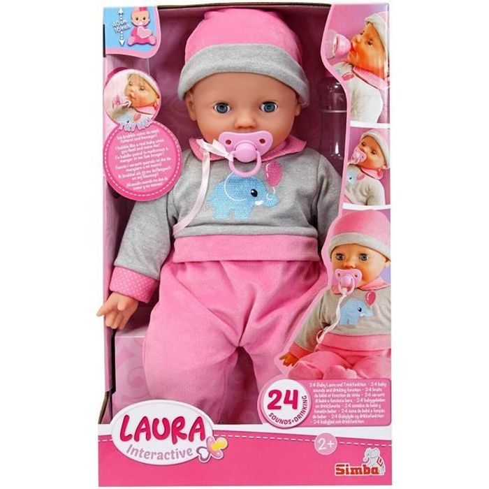 Simba Toys 105140066 Laura poupée interactive