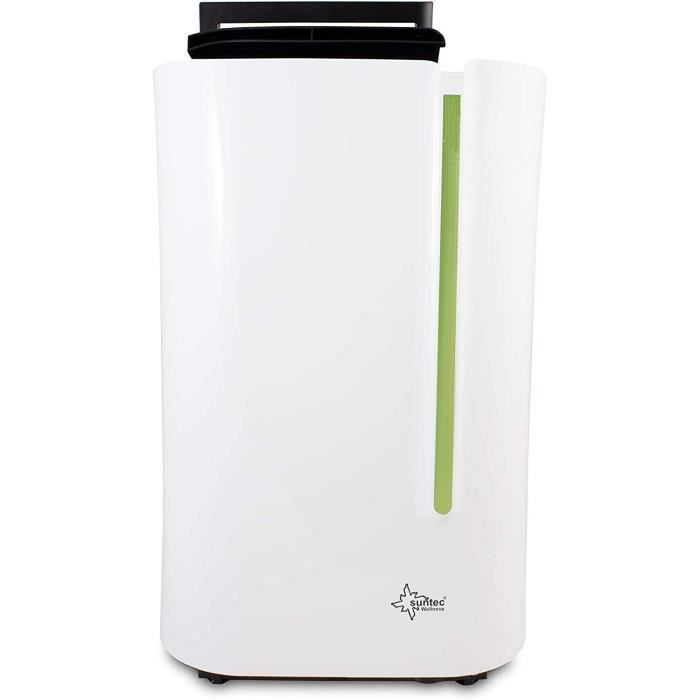 Déshumidificateur Electrique DryFix 20 Lumio Silencieux pour des pièces jusqu'à 150 m³ ~65 m², capacité de déshumidification=20l/jou