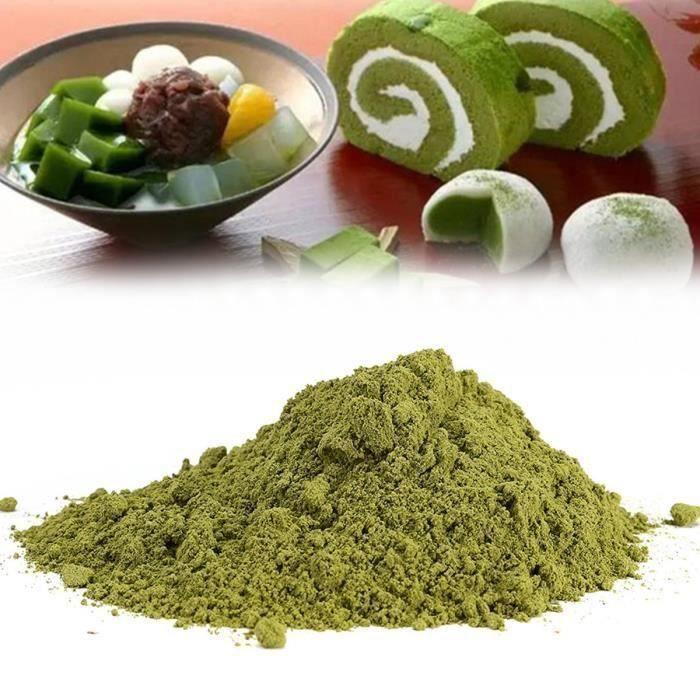 500g Poudre Thé Vert Matcha Sac Naturel Sans Additifs Boisson Café Biologique @YC