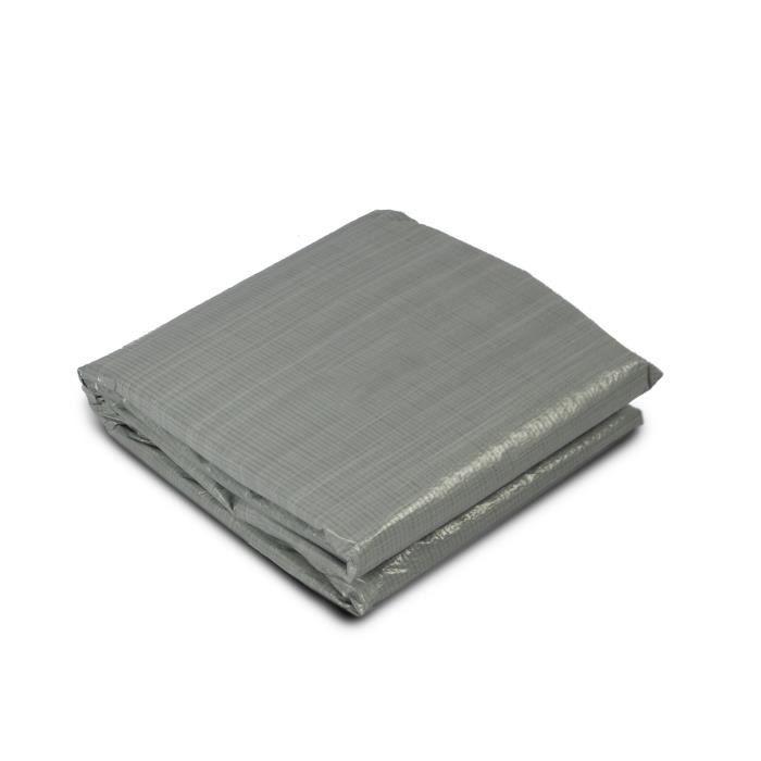 Tapis de sol EXIT pour piscine 480 x 480 cm – gris