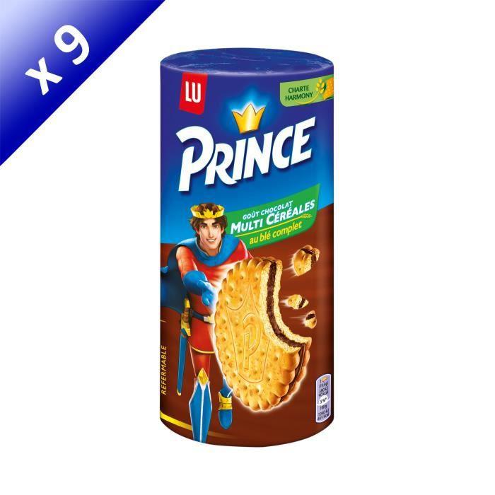 [LOT DE 9] Prince Multicéréales 293g