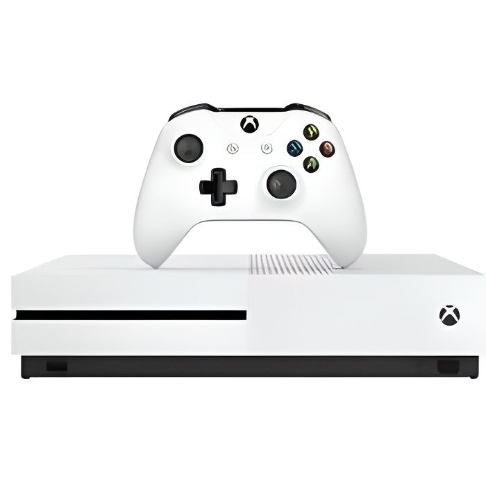 PACK CONSOLE XBOX ONE 1TO + 3 JEUX