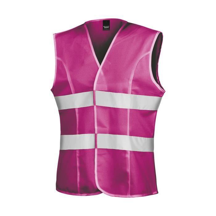 Gilet de sécurité pour femme - R334F - rose