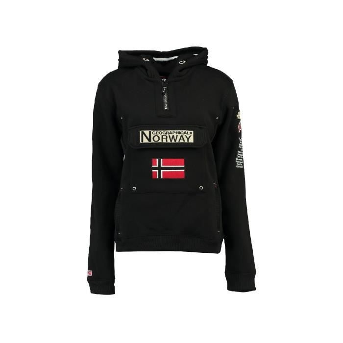 Sweat Homme Geographical Norway Gymclass New Noir