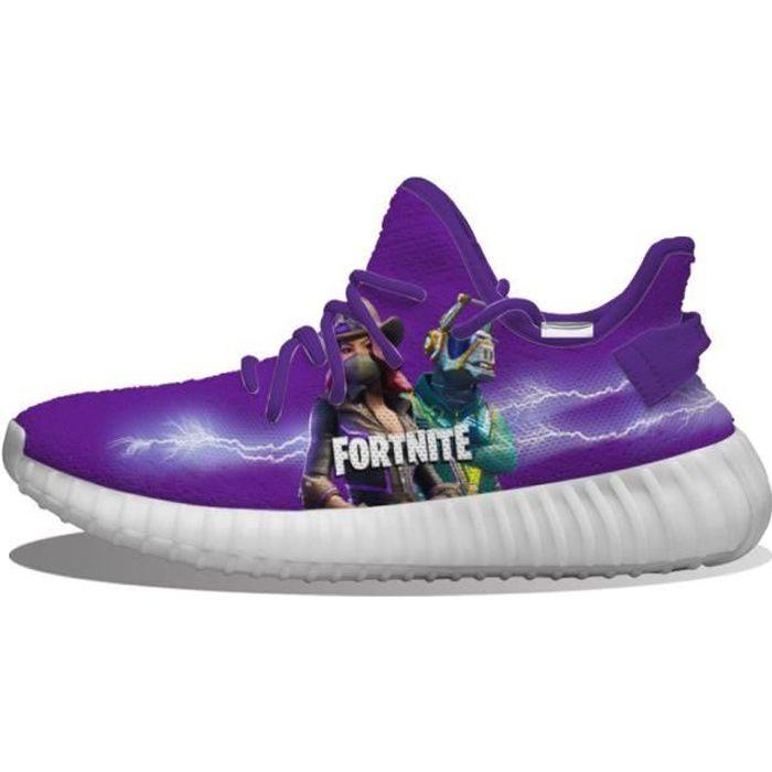 Baskets Fortnite Dark Series Chaussures de course pour Homme Femme