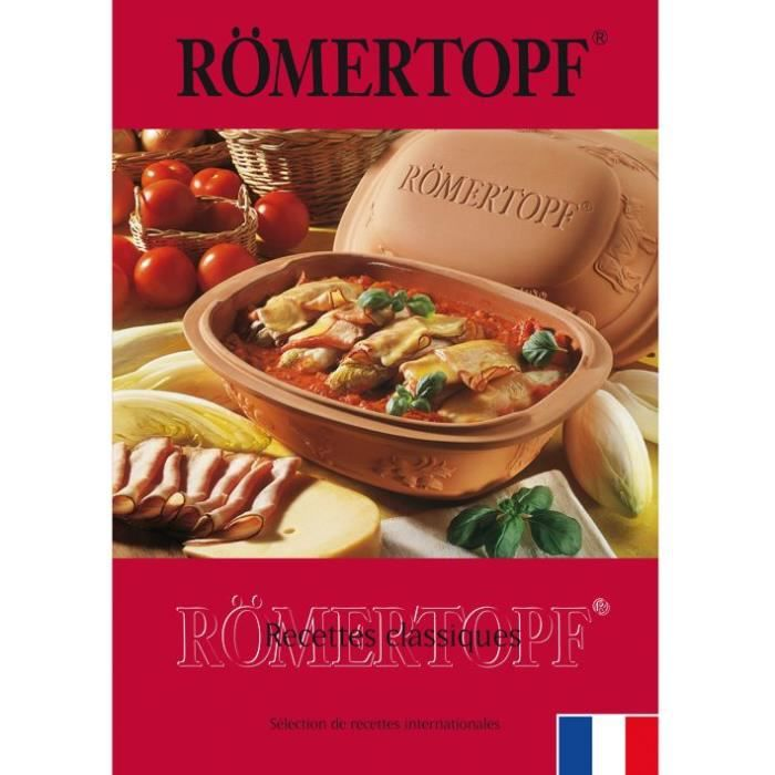Livre 124 recettes classiques Romertopf