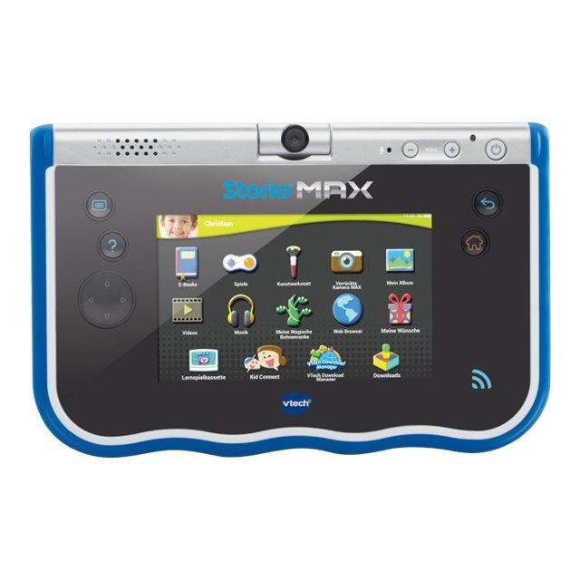 VTech Storio Max Tablette Android 4.2.2 (Jelly Bean) 8 Go 5- (800 x 480) Logement microSD