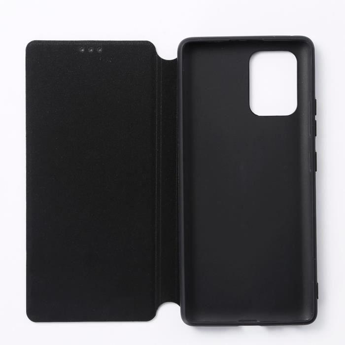 WEEtui de protection WE noir pour smartphone Samsung Galaxy S10 Lite Résistant aux chocs et chûtes. Accès caméra et multi-position.