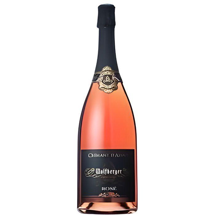 Wolfberger crémant d'alsace rosé, brut, magnum …