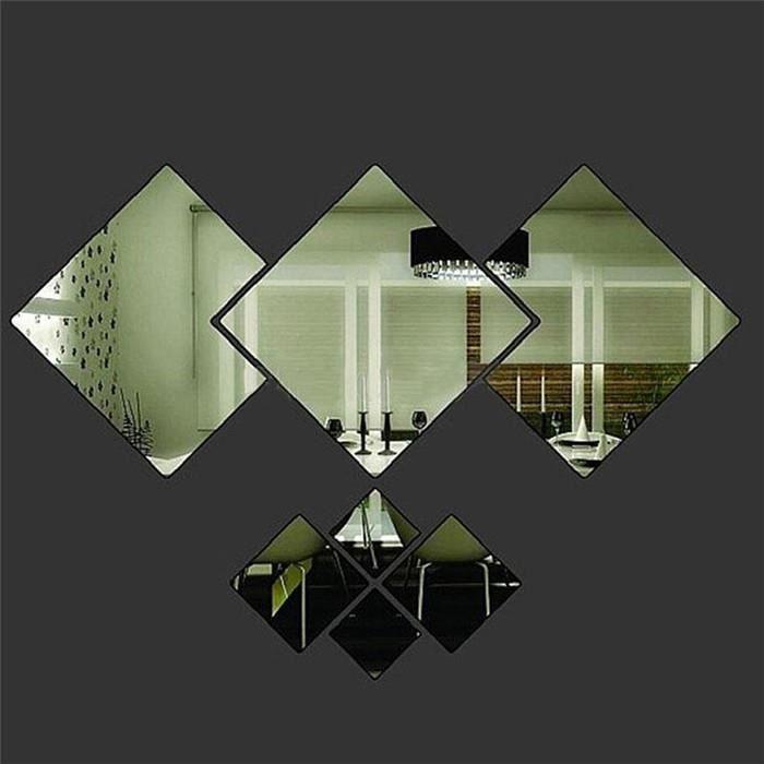 Salle De Bain Règles Autocollant Vinyle Autocollant Box Cadre Artisanat Décoration Maison Linge miroir