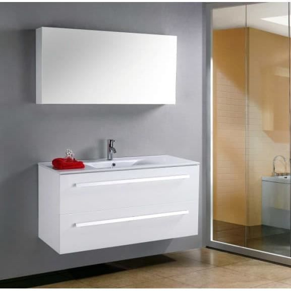 Grand Meuble Simple Vasque De Salle De Bain Contemporain - Achat ...