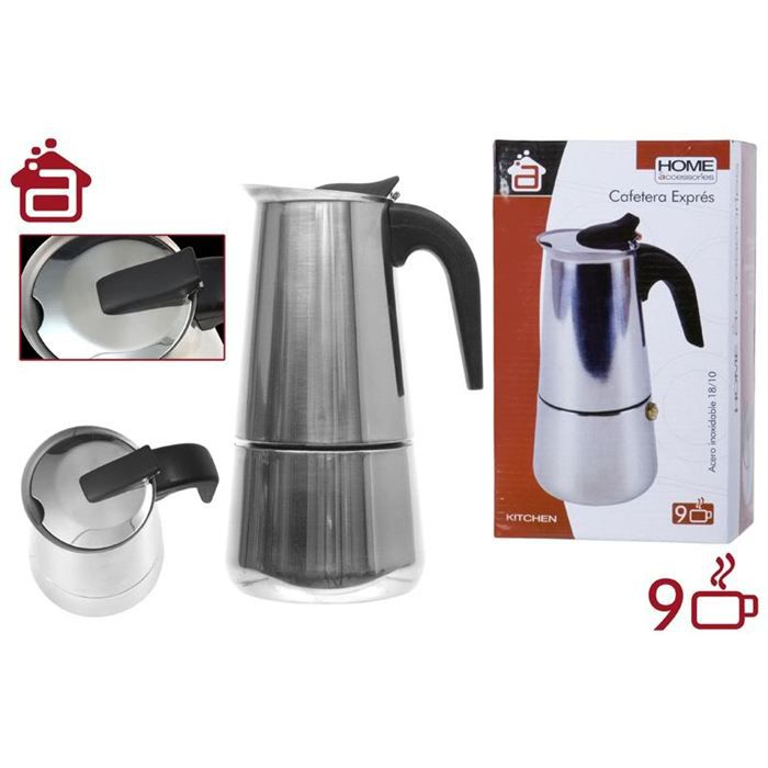 cafetiere italienne expresso 9 tasses achat vente cafeti re th i re cdiscount. Black Bedroom Furniture Sets. Home Design Ideas