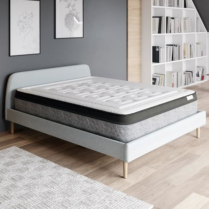 matelas latex 140 x 190 cm achat vente matelas latex 140 x 190 cm pas cher soldes d s le. Black Bedroom Furniture Sets. Home Design Ideas