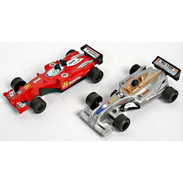 2 petits voitures formule 1 figurine miniature rou achat vente voiture camion cdiscount. Black Bedroom Furniture Sets. Home Design Ideas