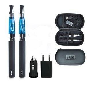PACK CIGARETTE E. Cigarette electronique CE4 Ego T duo deluxe