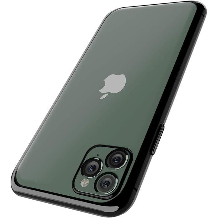INECK® Coque iPhone 11 Silicone Coque Transparente en Silicone TPU Souple [Antichocs] Bumper de Protection Premium [Compatible