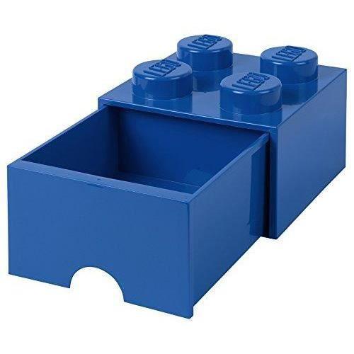 Lego Brique de Rangement 4 Medium Noir
