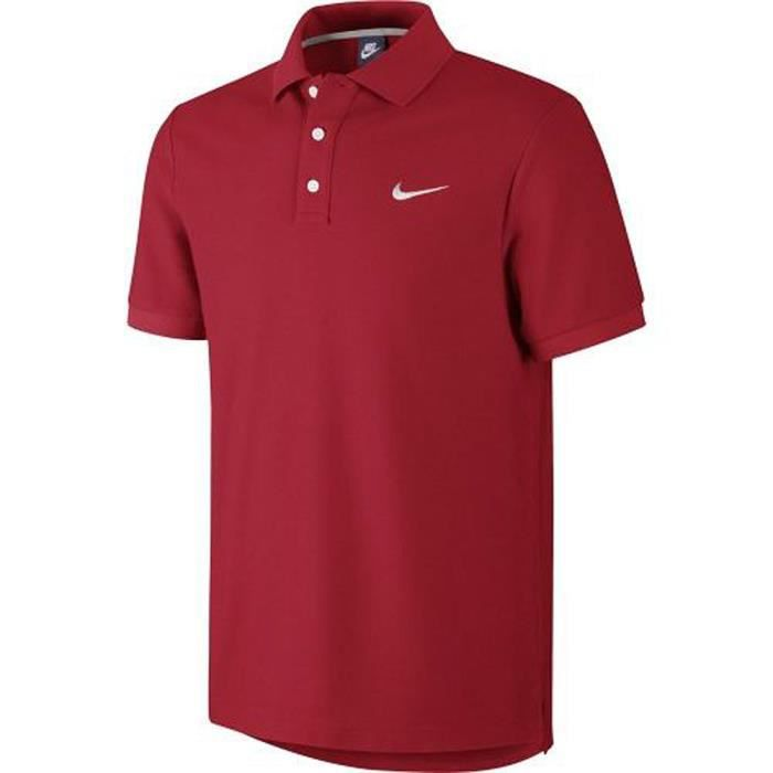 nike polo homme matchup rouge rouge achat vente polo nike polo homme matchup rou cdiscount. Black Bedroom Furniture Sets. Home Design Ideas