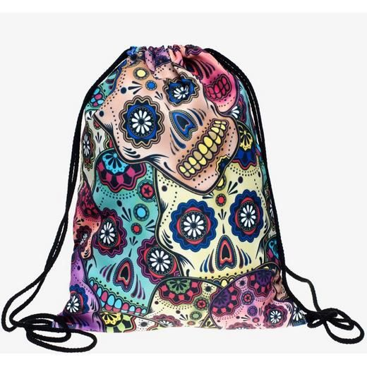 De Mort Cordon Backpack Sac À Mexicain Dos Tête 4X16Aw