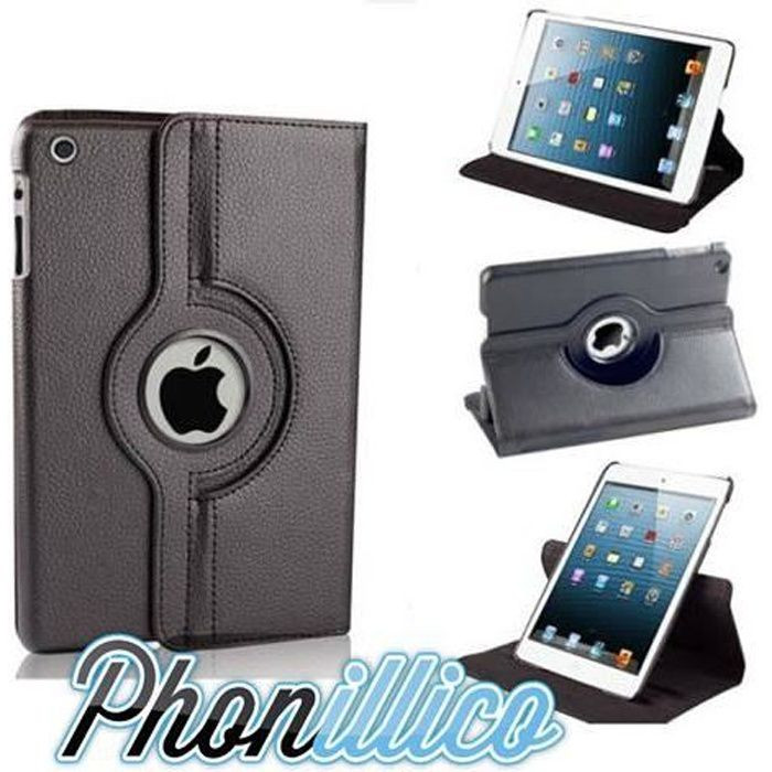 coque apple ipad mini 2 noir housse etui prix pas cher cdiscount. Black Bedroom Furniture Sets. Home Design Ideas