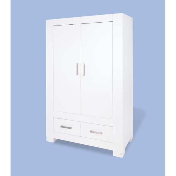 armoire enfant ice laqu blanc mat achat vente armoire. Black Bedroom Furniture Sets. Home Design Ideas