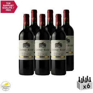 VIN ROUGE Château Malbat Rouge 2014 - Lot de 6x75cl - Appell