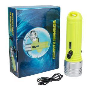 LAMPE DE POCHE 3 modes imperméable à l'eau plongée sous-marine XM