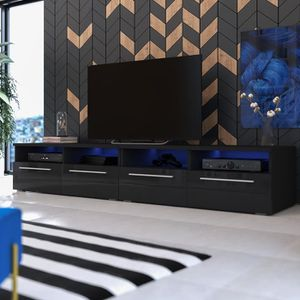 meuble tv achat vente meuble tv pas cher cdiscount page 2. Black Bedroom Furniture Sets. Home Design Ideas