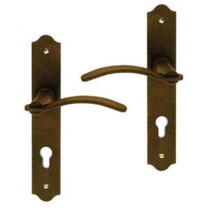 POIGNÉE DE PORTE Poignée de porte extérieure rustique en fer rouill