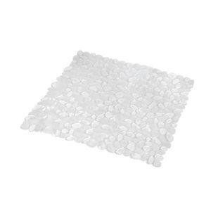 ANTI-DÉRAPANT BAIN Tapis fond de douche galet transparent