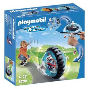 UNIVERS MINIATURE PLAYMOBIL 9204 - Sports & Action - Toupie Bleue