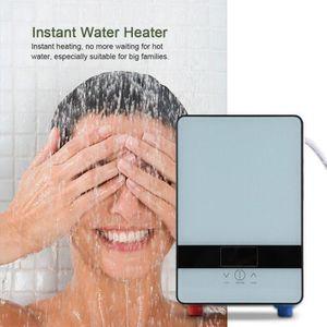 CHAUFFE-EAU 220V 6500W Chauffe-eau électrique instantané sans