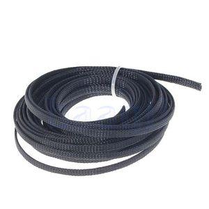 30m PVC cable acier 2mm noir couleur 1x7 gaine corde de foresterie galvanis/é avec revetement en polymere