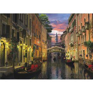 PUZZLE Puzzle 3000 pièces Crépuscule à Venise