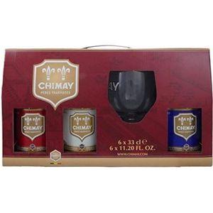 BIÈRE Coffret Chimay 6x33cl + 1 verre