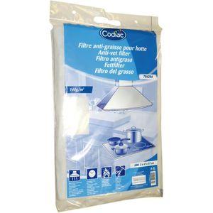 FILTRE POUR HOTTE Filtre pour hotte anti-graisse 47x57 cm - lot de 2