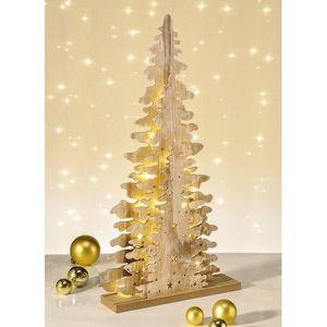 SAPIN - ARBRE DE NOËL Arbre décoratif à LED en bois Arbre de Noël Arbre