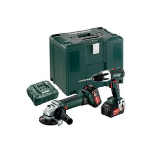 PERCEUSE Metabo - Pack de machines 18V Perceuse à percussio