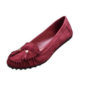 MOCASSIN Mocassin femme Lily shoes M10 Wine