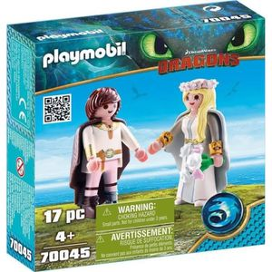 UNIVERS MINIATURE PLAYMOBIL 70045 - Dragons - Astrid et Harold