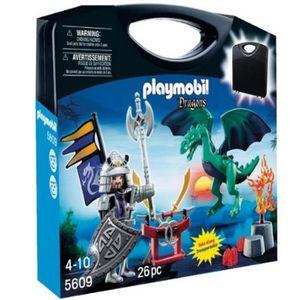 UNIVERS MINIATURE Playmobil valisette chevaliers dragons asiatique
